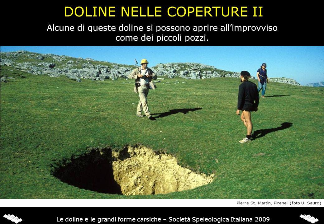 DOLINE NELLE COPERTURE II