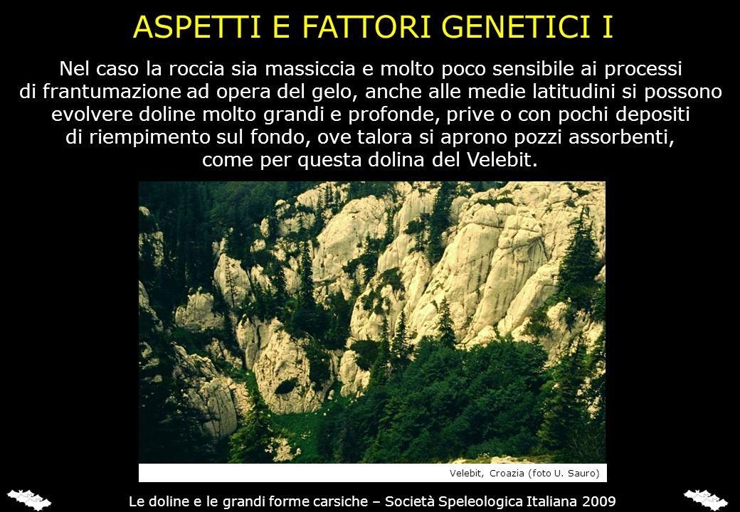 ASPETTI E FATTORI GENETICI I