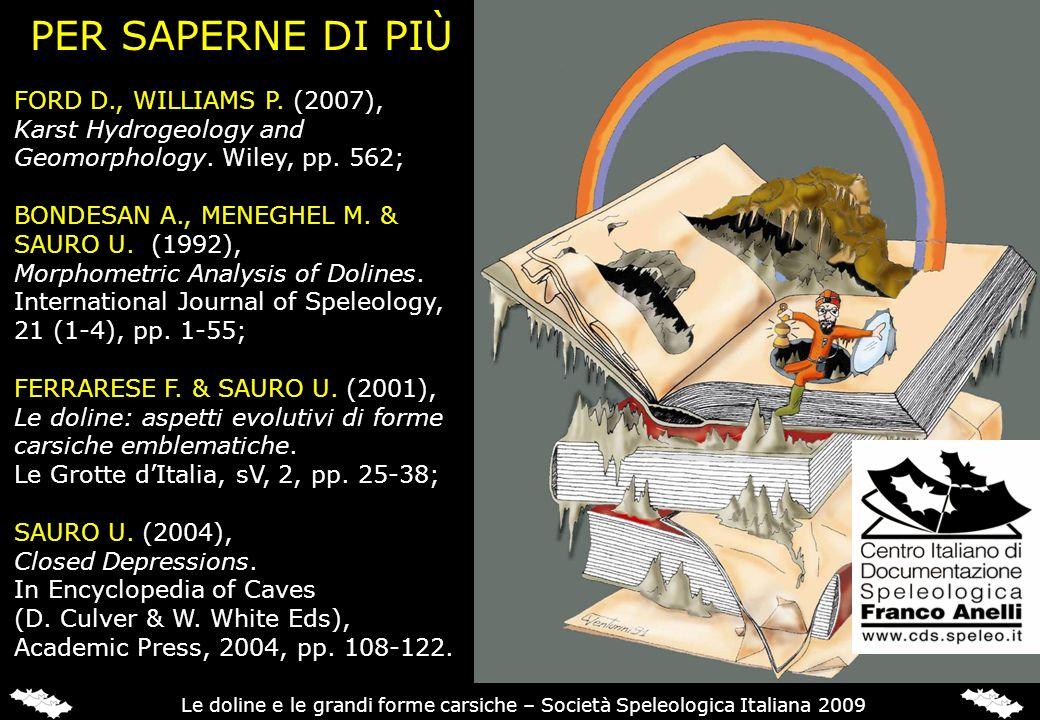 PER SAPERNE DI PIÙ FORD D., WILLIAMS P. (2007),