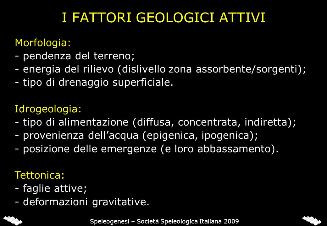 I FATTORI CLIMATICI (E BIOLOGICI)