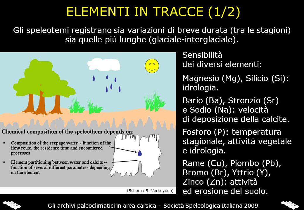 ELEMENTI IN TRACCE (2/2): PROCESSI