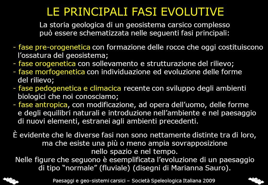 LE PRINCIPALI FASI EVOLUTIVE