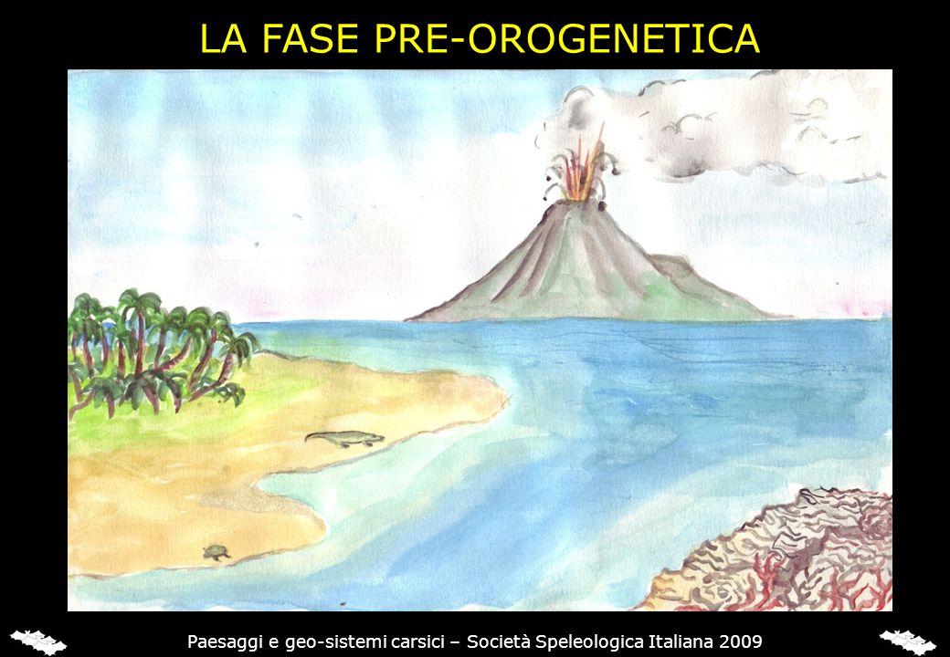 LA FASE PRE-OROGENETICA