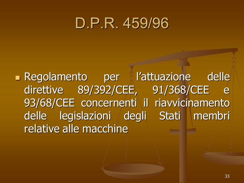 D.P.R. 459/96