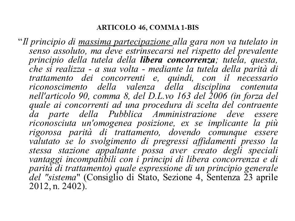 ARTICOLO 46, COMMA 1-BIS