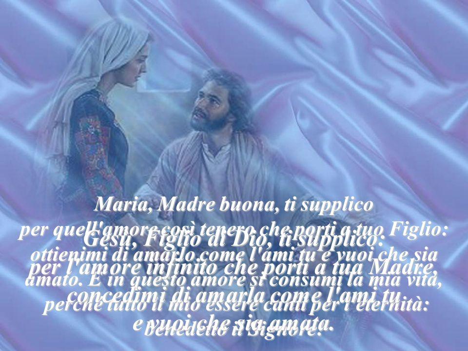 Gesù, Figlio di Dio, ti supplico: