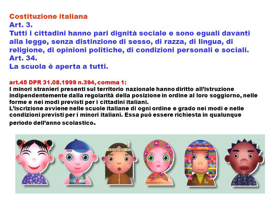 Costituzione italiana Art. 3.