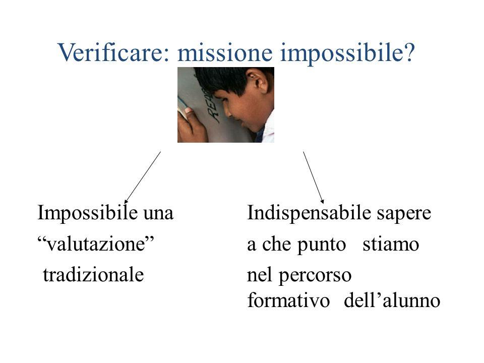 Verificare: missione impossibile
