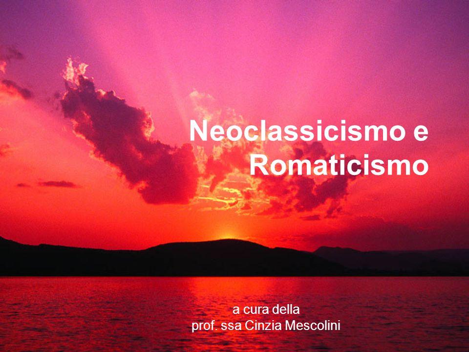 Neoclassicismo e Romaticismo