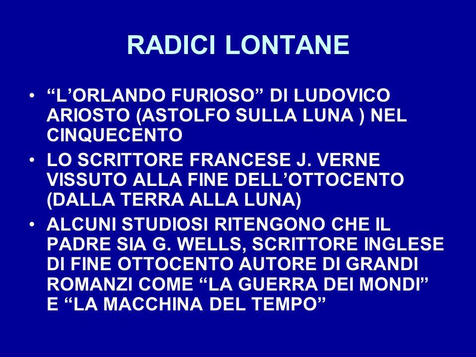 RADICI LONTANE L'ORLANDO FURIOSO DI LUDOVICO ARIOSTO (ASTOLFO SULLA LUNA ) NEL CINQUECENTO.