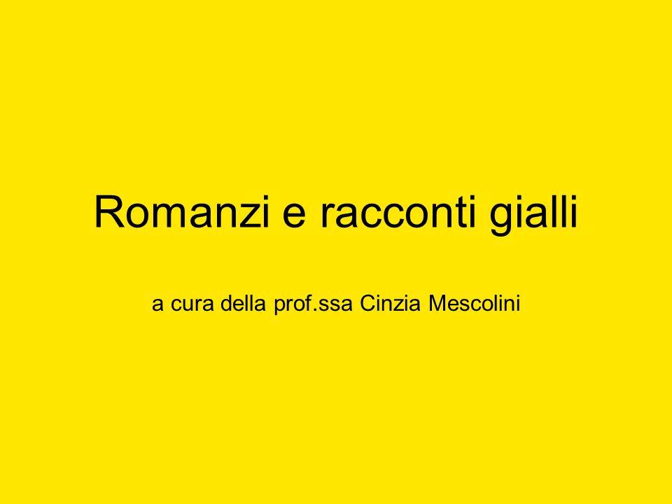 Romanzi e racconti gialli