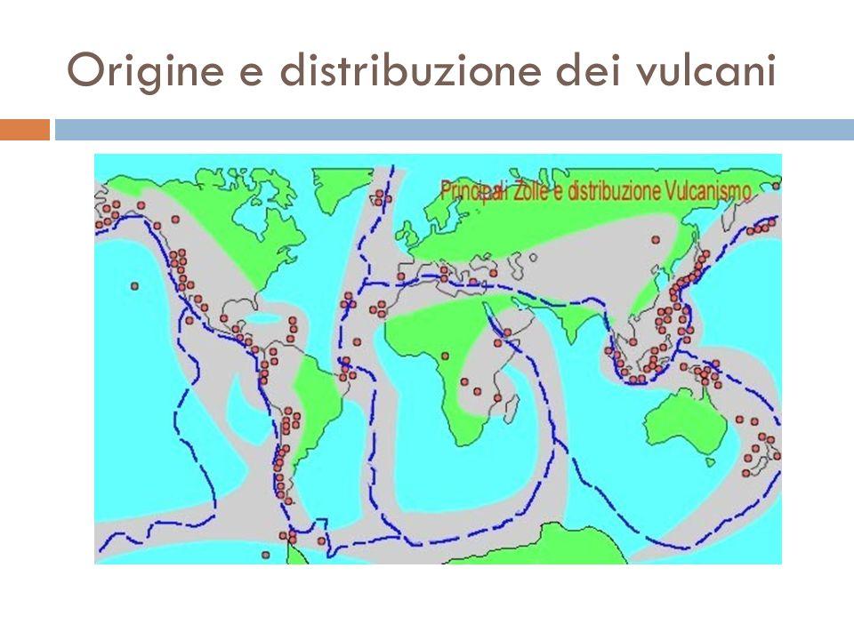 Origine e distribuzione dei vulcani