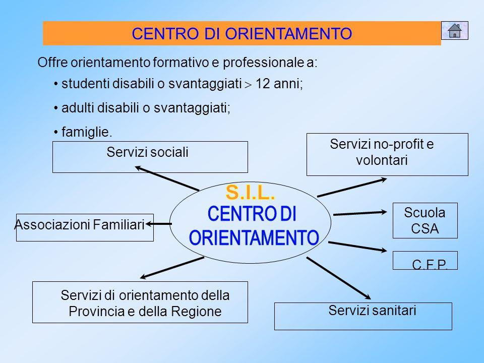 S.I.L. CENTRO DI ORIENTAMENTO