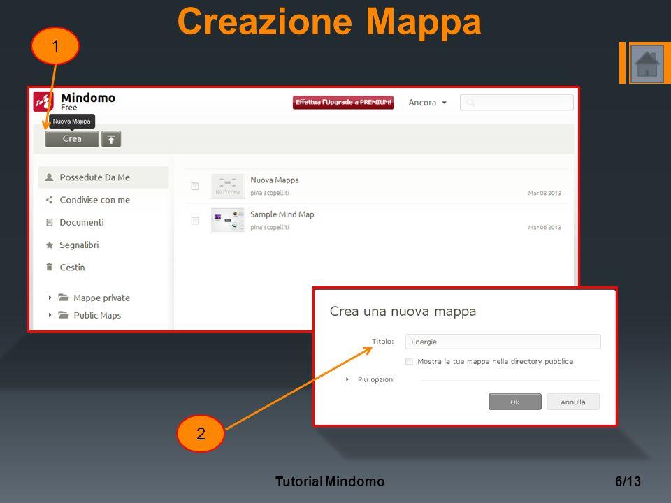 Creazione Mappa 1 2 Tutorial Mindomo