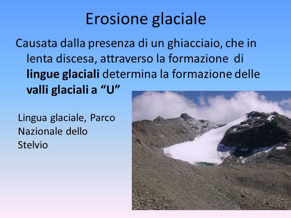 Erosione glaciale