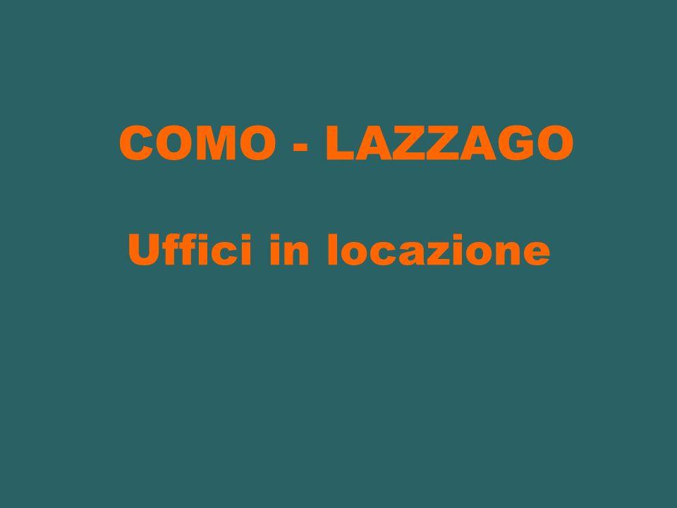 COMO - LAZZAGO Uffici in locazione