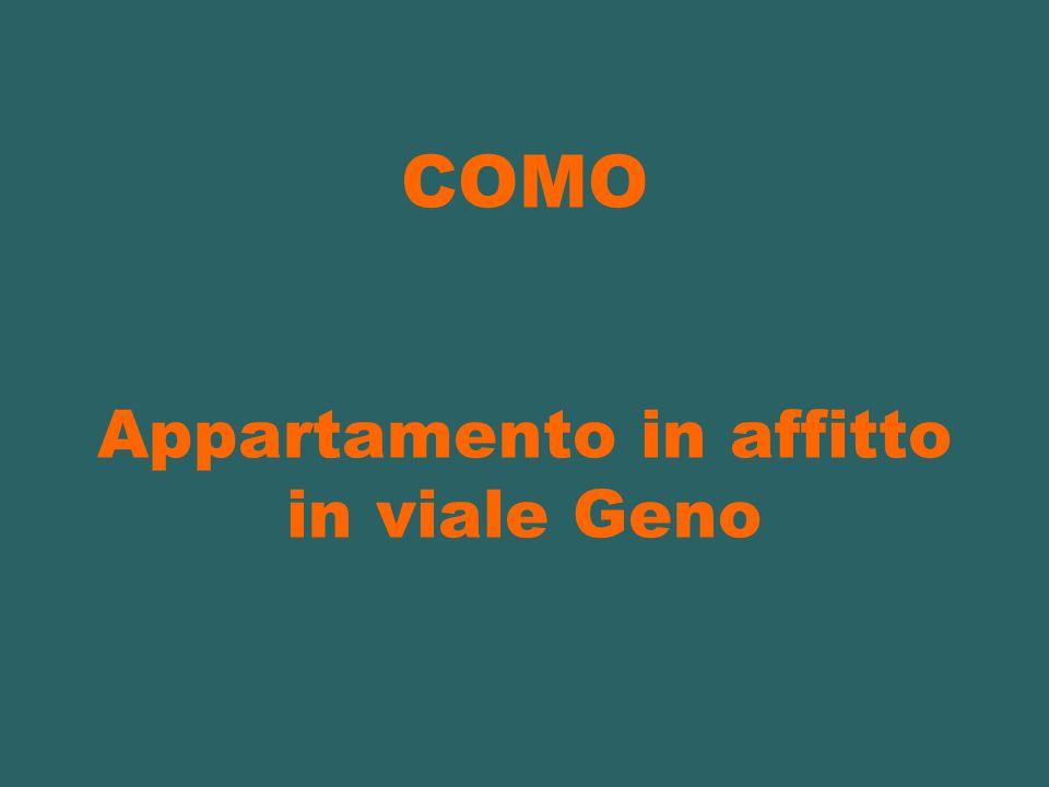 COMO Appartamento in affitto in viale Geno