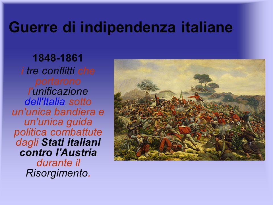 Guerre di indipendenza italiane