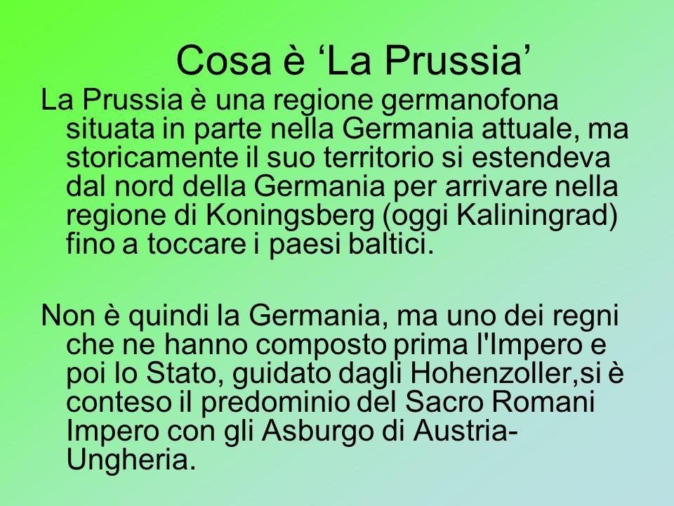 Cosa è 'La Prussia'