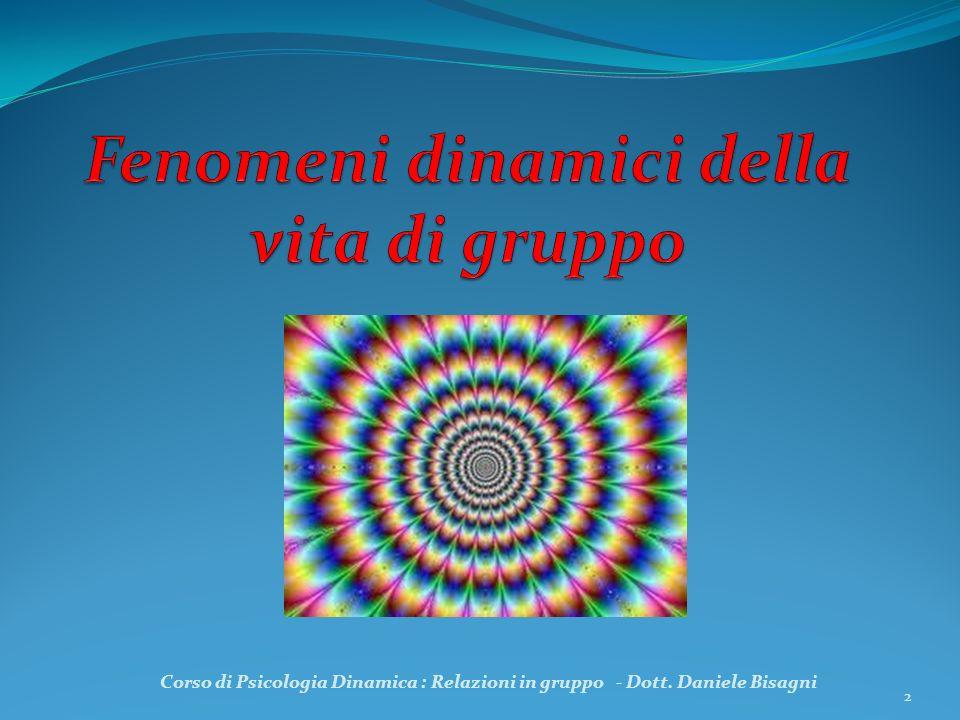 Fenomeni dinamici della vita di gruppo