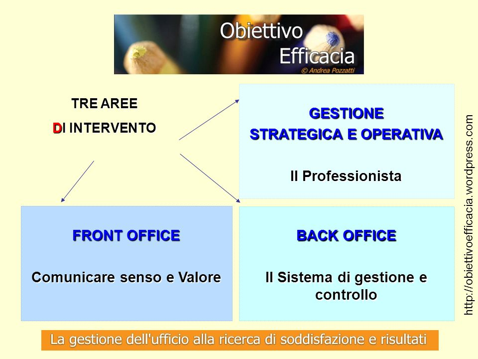 STRATEGICA E OPERATIVA Il Professionista