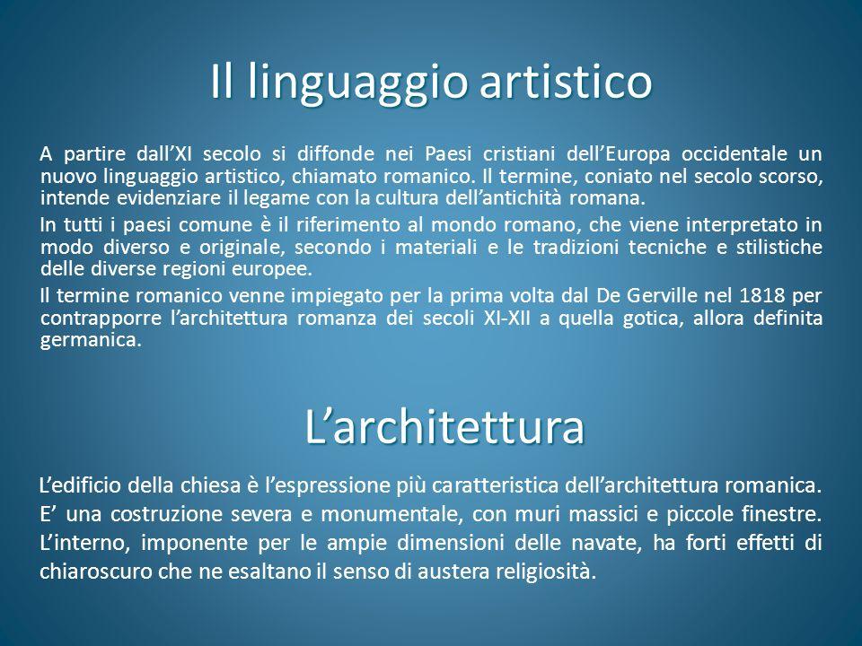 Il linguaggio artistico