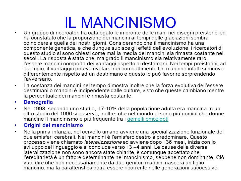 IL MANCINISMO