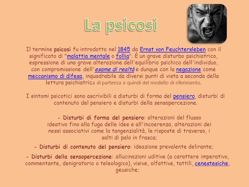 La psicosi