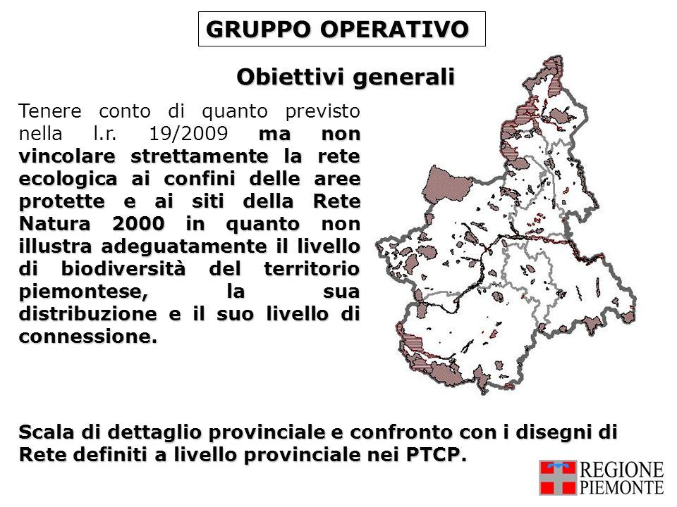 GRUPPO OPERATIVO Obiettivi generali
