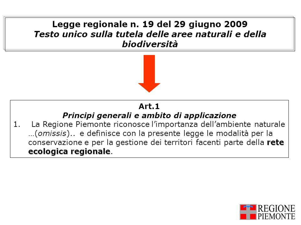Legge regionale n. 19 del 29 giugno 2009
