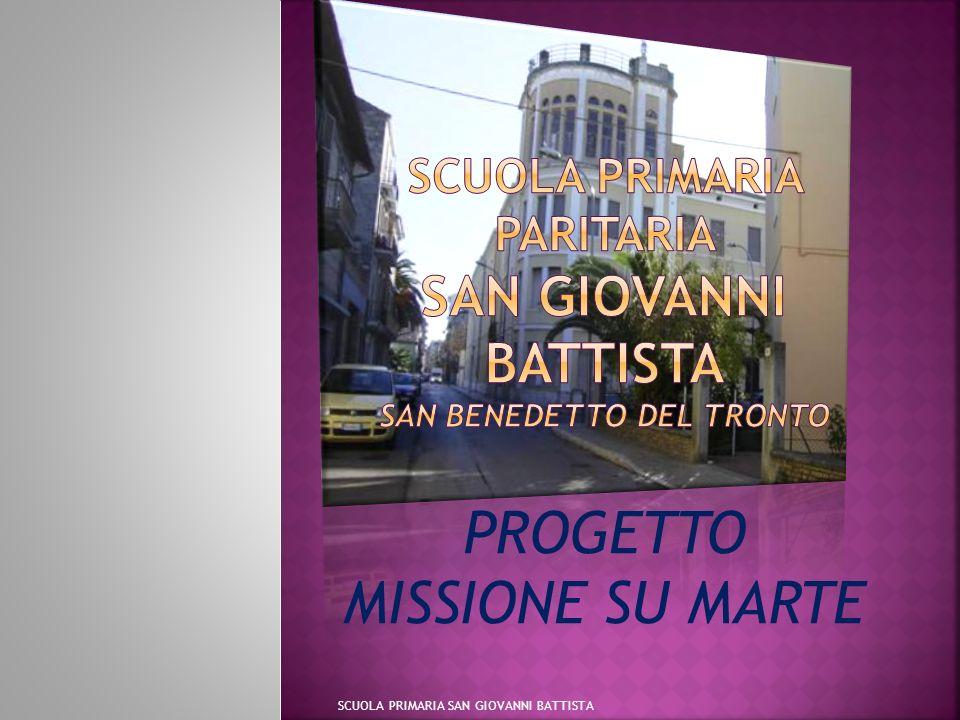 PROGETTO MISSIONE SU MARTE