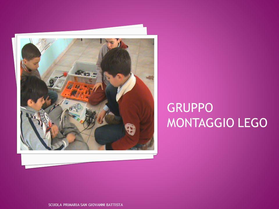 GRUPPO MONTAGGIO LEGO SCUOLA PRIMARIA SAN GIOVANNI BATTISTA