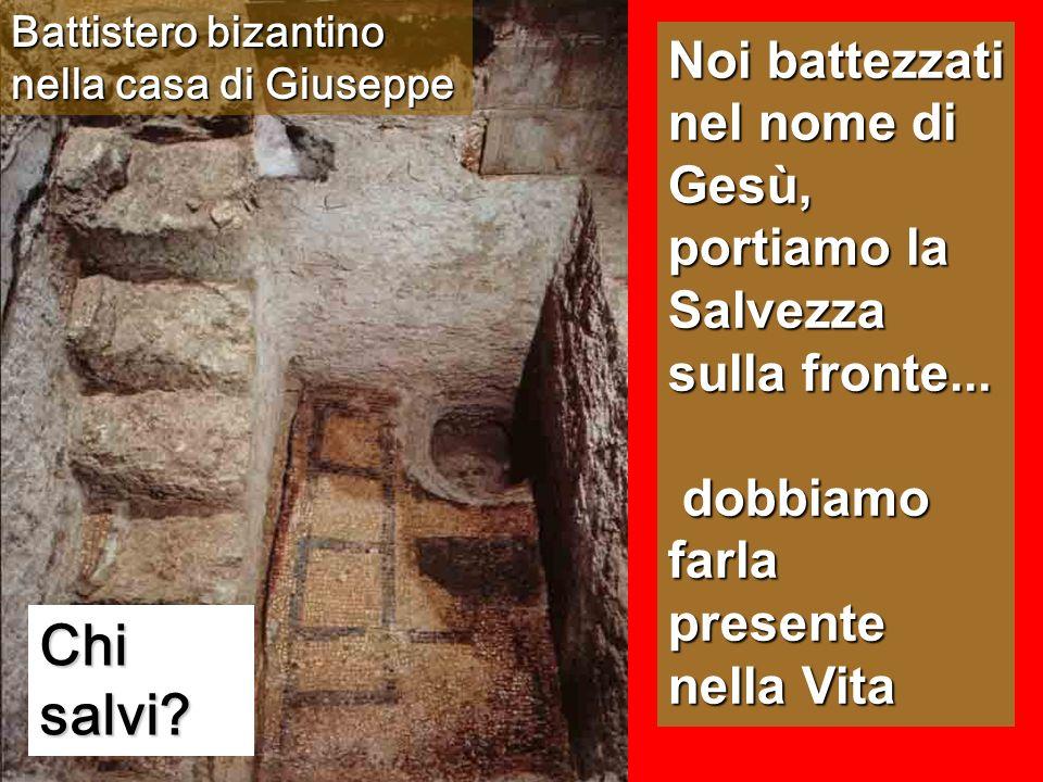 Battistero bizantino nella casa di Giuseppe