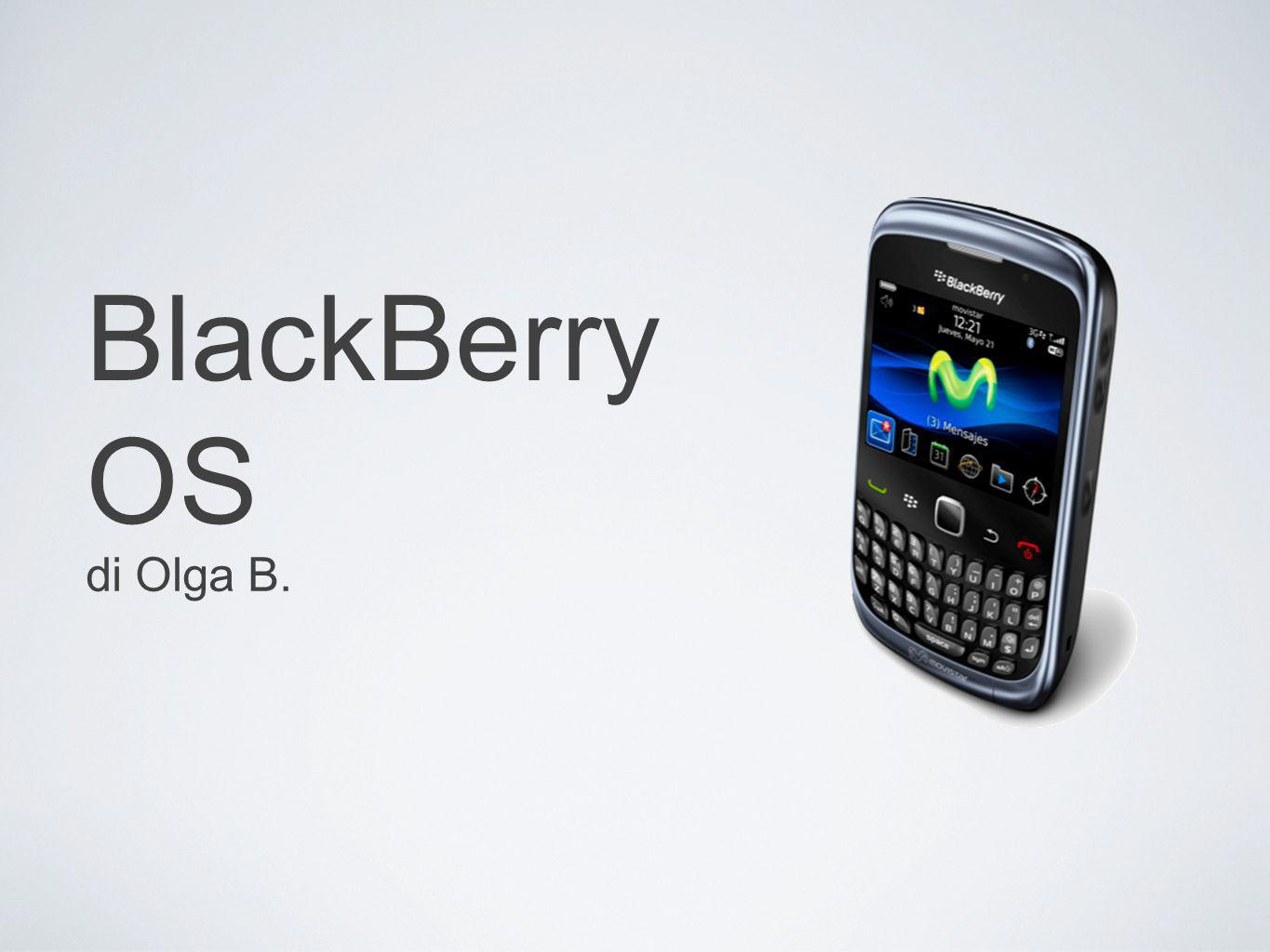 BlackBerry OS di Olga B.