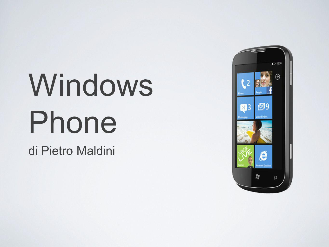 Windows Phone di Pietro Maldini
