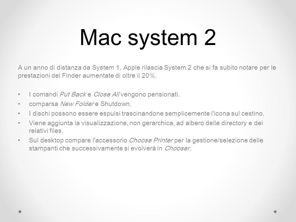 Mac system 2