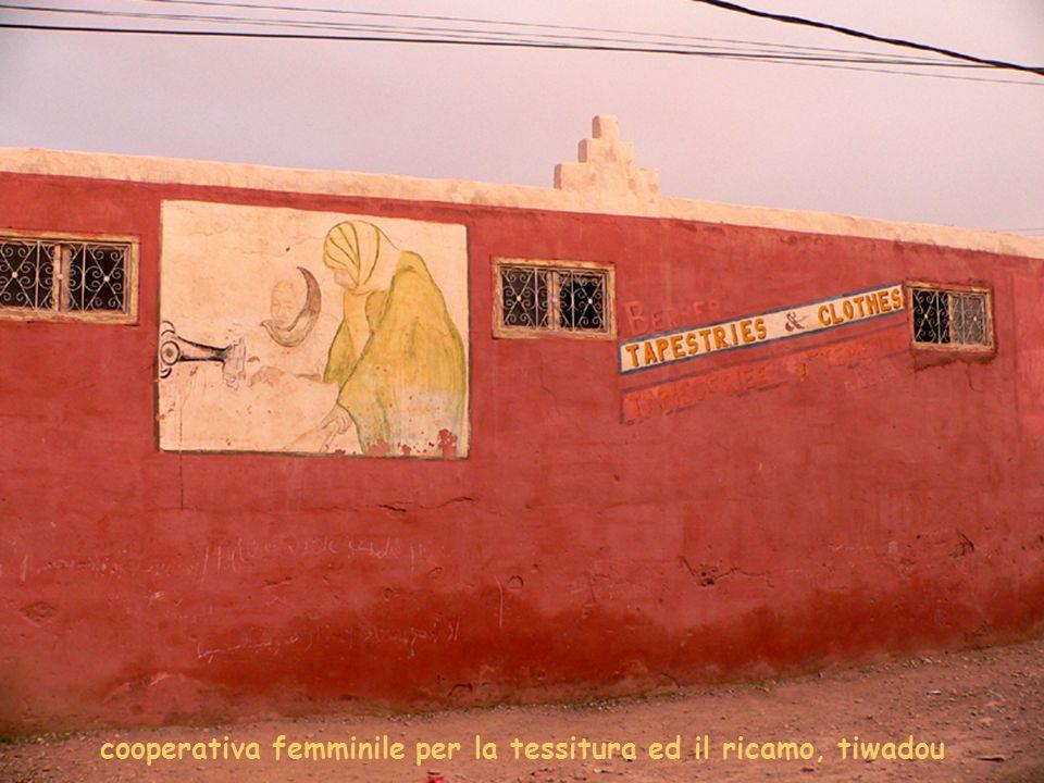 cooperativa femminile per la tessitura ed il ricamo, tiwadou
