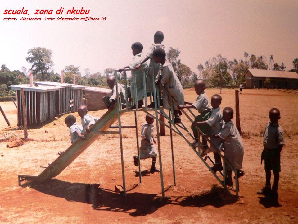 scuola, zona di nkubu autore: Alessandra Arata (alessandra.ar@libero.it)