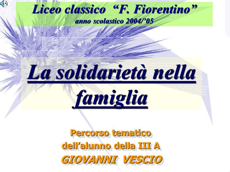 Liceo classico F. Fiorentino anno scolastico 2004/'05