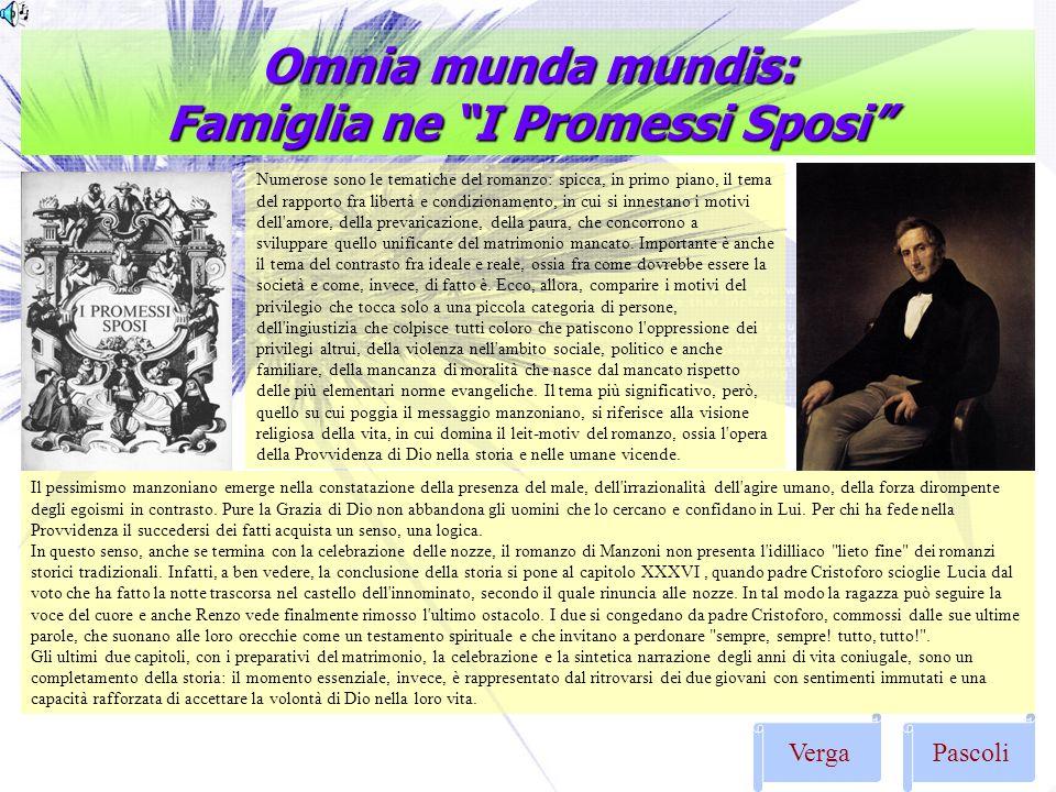 Omnia munda mundis: Famiglia ne I Promessi Sposi