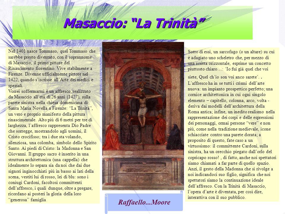 Masaccio: La Trinità