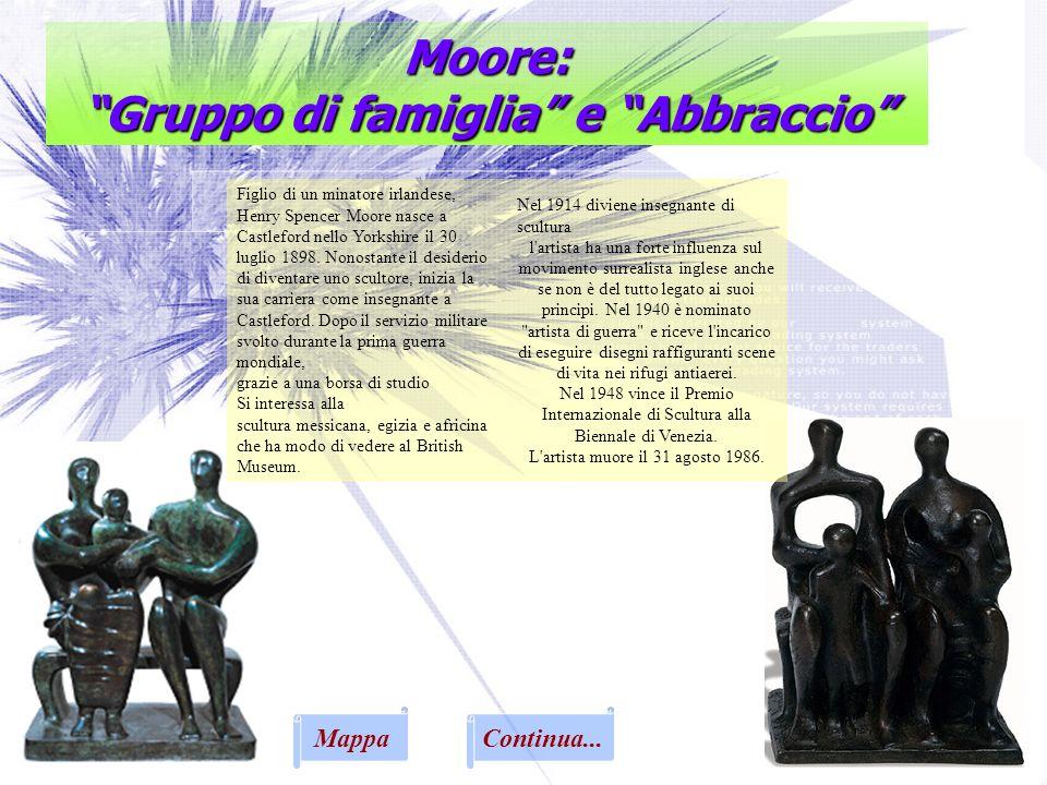 Moore: Gruppo di famiglia e Abbraccio