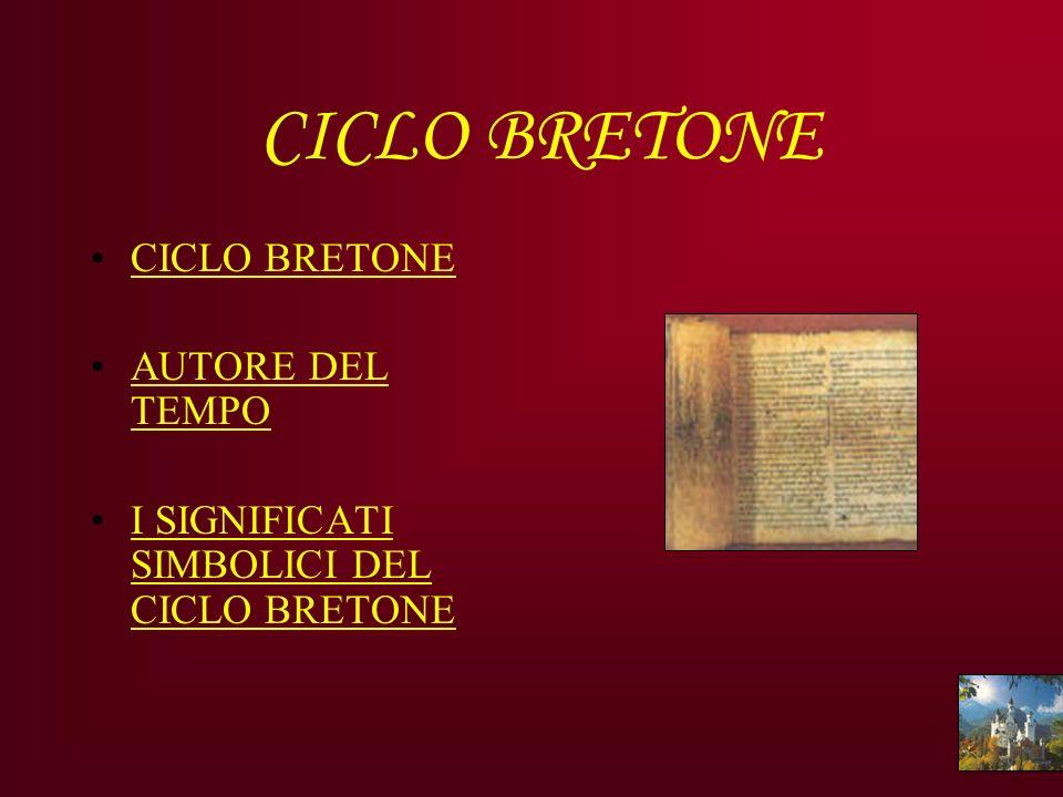 CICLO BRETONE CICLO BRETONE AUTORE DEL TEMPO