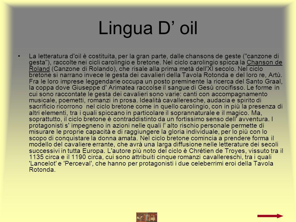 Lingua D' oil