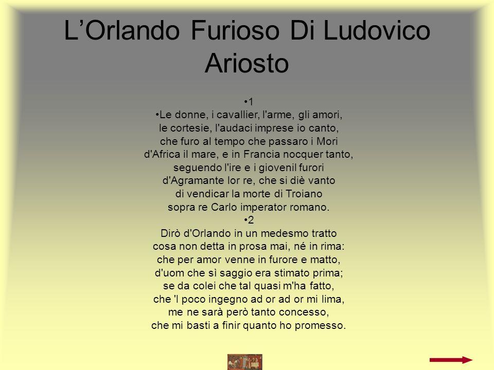 L'Orlando Furioso Di Ludovico Ariosto