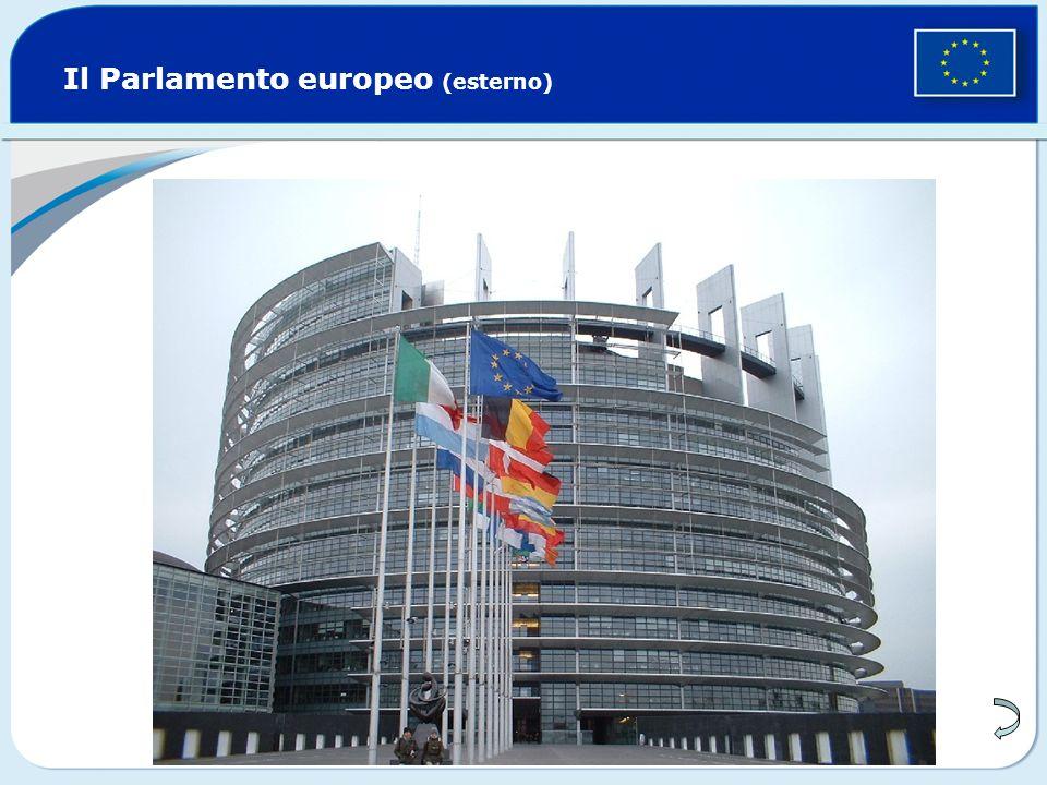 Il Parlamento europeo (esterno)