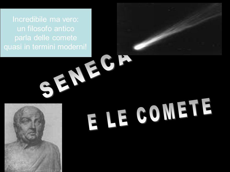 Incredibile ma vero: un filosofo antico parla delle comete quasi in termini moderni!