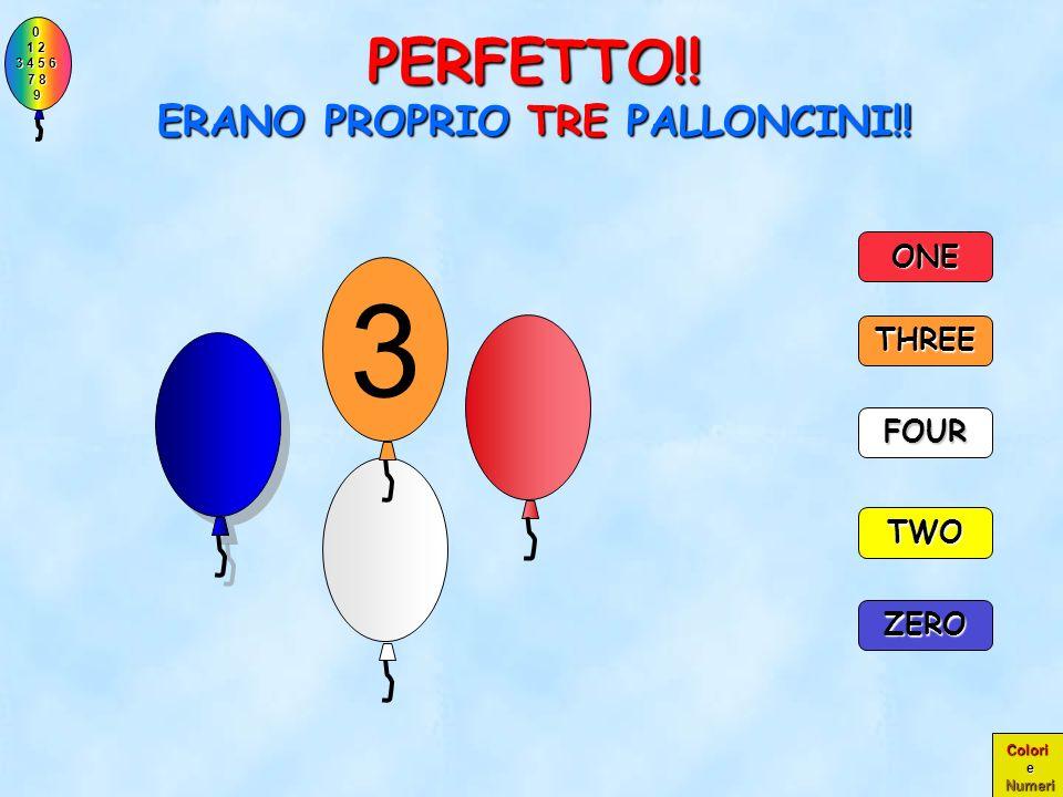 PERFETTO!! ERANO PROPRIO TRE PALLONCINI!!