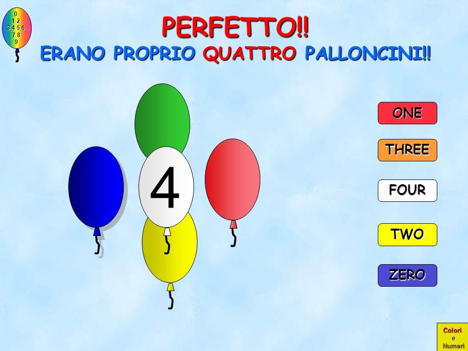 PERFETTO!! ERANO PROPRIO QUATTRO PALLONCINI!!