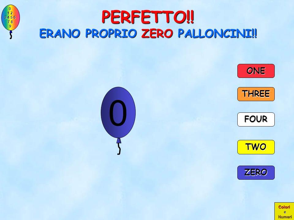PERFETTO!! ERANO PROPRIO ZERO PALLONCINI!!